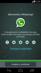 Configuración de Whatsapp - Motorola Moto E (1st Gen) (Kitkat) - Passo 4