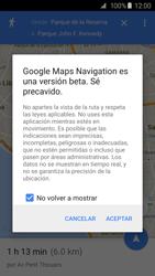 Uso de la navegación GPS - Samsung Galaxy S6 - G920 - Passo 17