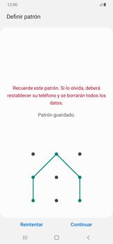 Desbloqueo del equipo por medio del patrón - Samsung Galaxy A50 - Passo 8