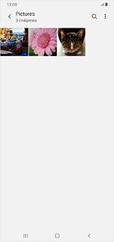 Transferir fotos vía Bluetooth - Samsung Galaxy A10 - Passo 7