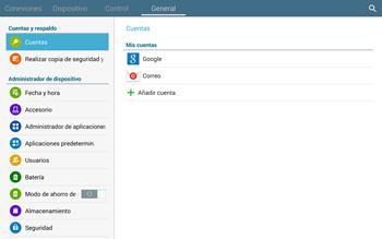 Restaura la configuración de fábrica - Samsung Galaxy Note Pro - Passo 5