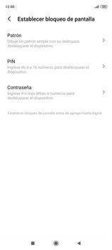 Habilitar seguridad de huella digital - Xiaomi Redmi Note 9 Pro - Passo 5