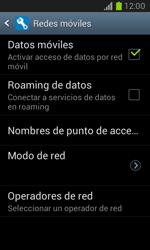 Desactiva tu conexión de datos - Samsung Galaxy Win - I8550 - Passo 5