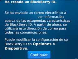 Crea una cuenta - BlackBerry Bold 9720 - Passo 14