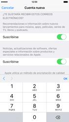 Crea una cuenta - Apple iPhone 6s - Passo 15