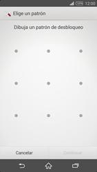 Desbloqueo del equipo por medio del patrón - Sony Xperia Z2 D6503 - Passo 7