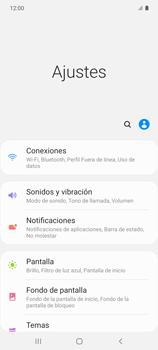 Configura el hotspot móvil - Samsung Galaxy S10 Lite - Passo 4