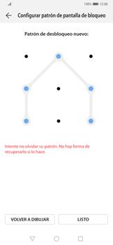Desbloqueo del equipo por medio del patrón - Huawei Mate 20 Pro - Passo 10