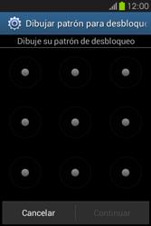 Desbloqueo del equipo por medio del patrón - Samsung Galaxy Fame GT - S6810 - Passo 8