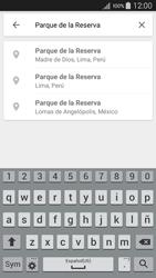 Uso de la navegación GPS - Samsung Galaxy A5 - A500M - Passo 9