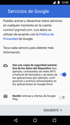 Crea una cuenta - Motorola Moto G5 - Passo 16