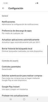 Cambiar configuración de actualizaciones de aplicaciones - Samsung S10+ - Passo 9