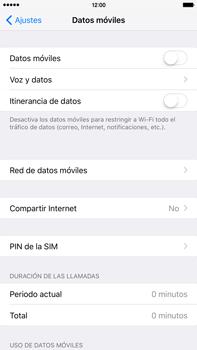 Desactiva tu conexión de datos - Apple iPhone 6 Plus - Passo 4