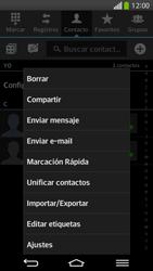 ¿Tu equipo puede copiar contactos a la SIM card? - LG G Flex - Passo 5