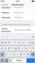 Crea una cuenta - Apple iPhone 5c - Passo 13