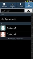 ¿Tu equipo puede copiar contactos a la SIM card? - Samsung Galaxy S4  GT - I9500 - Passo 4