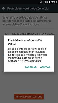 Restaura la configuración de fábrica - HTC U11 - Passo 7