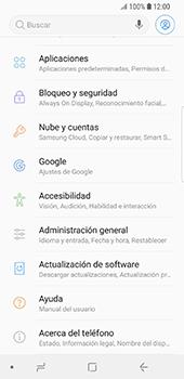 Restaura la configuración de fábrica - Samsung Galaxy S9 - Passo 4