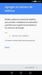 Crea una cuenta - Huawei Cam Y6 II - Passo 12