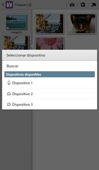 Transferir fotos vía Bluetooth - Samsung Galaxy Tab 3 7.0 - Passo 12