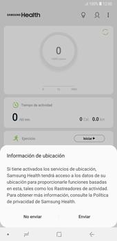 Samsung Health - Samsung A7 2018 - Passo 9