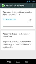 Configuración de Whatsapp - Motorola RAZR D3 XT919 - Passo 7