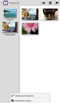 Transferir fotos vía Bluetooth - Samsung Galaxy Tab 3 7.0 - Passo 6