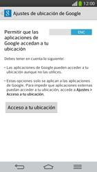 Uso de la navegación GPS - LG G Flex - Passo 23