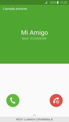 Contesta, rechaza o silencia una llamada - Samsung Galaxy S6 - G920 - Passo 3