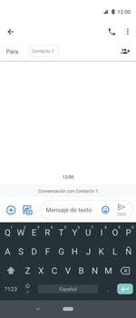 Envía fotos, videos y audio por mensaje de texto - Motorola One Vision (Single SIM) - Passo 6
