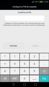 Desbloqueo del equipo por medio del patrón - Huawei Mate S - Passo 12