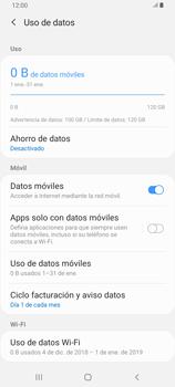 Desactivación límite de datos móviles - Samsung Galaxy A80 - Passo 6