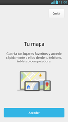 Uso de la navegación GPS - LG Optimus G Pro Lite - Passo 5