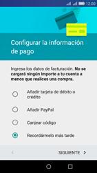 Crea una cuenta - Huawei Y6 - Passo 16