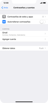 Desactivar la sincronización automática - Apple iPhone XS Max - Passo 4
