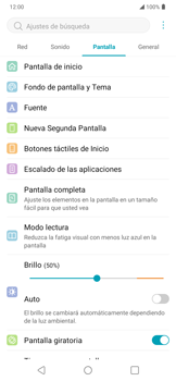 Cambiar configuraciones de pantalla - LG K40S - Passo 10