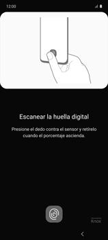 Habilitar seguridad de huella digital - Samsung Galaxy A51 - Passo 12