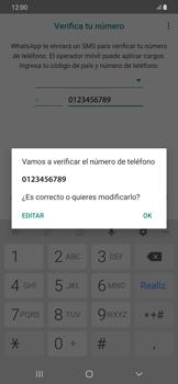 Configuración de Whatsapp - Samsung Galaxy A50 - Passo 6