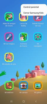 Cómo habilitar el Ambiente de Niños - Samsung Galaxy S10 Lite - Passo 10