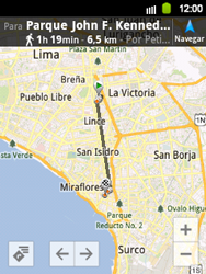 Uso de la navegación GPS - Samsung Galaxy Y  GT - S5360 - Passo 19