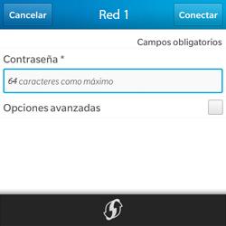 Configura el WiFi - BlackBerry Q5 - Passo 8