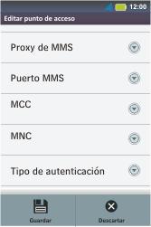 Configura el Internet - Motorola MotoSmart Me  XT303 - Passo 16