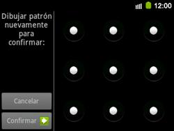Desbloqueo del equipo por medio del patrón - Samsung Galaxy Y Pro GT - B5510 - Passo 11