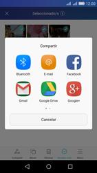 Transferir fotos vía Bluetooth - Huawei Y6 - Passo 9