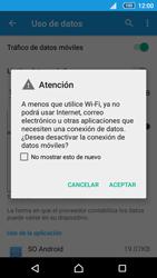 Desactiva tu conexión de datos - Sony Xperia Z5 Compact - E5823 - Passo 5