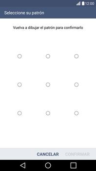 Desbloqueo del equipo por medio del patrón - LG G4 - Passo 11