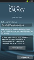 Activa el equipo - Samsung Galaxy S 3  GT - I9300 - Passo 3