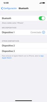 Conecta con otro dispositivo Bluetooth - Apple iPhone XS - Passo 6