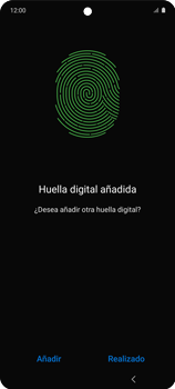 Habilitar seguridad de huella digital - Samsung Galaxy A51 - Passo 16