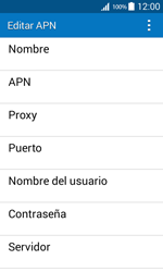 Configura el Internet - Samsung Galaxy Core Prime - G360 - Passo 9